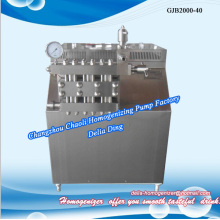 Juice high pressure homogenizer