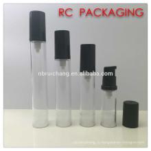 5 мл / 8 мл / 12 мл / 15 мл маленькая безвоздушная бутылка, пластиковая бутылка безвоздушного насоса, косметическая безвоздушная бутылка