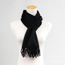 Pure Color Wool Cashmere Scarf for Men and Women CD20al