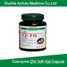 Natural Vitamina E Coenzima Q10 Soft-Gel Cápsula