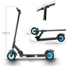 Scooter eléctrico de neumático grueso de 8 PULGADAS