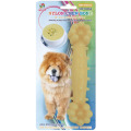 "Percell 7,5 ""Nylon Dog Chew Bone olor a sopa de maíz"