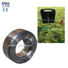 Alambre con aislamiento doble Alambre con aislamiento eléctrico para puerta de granja de esgrima eléctrica
