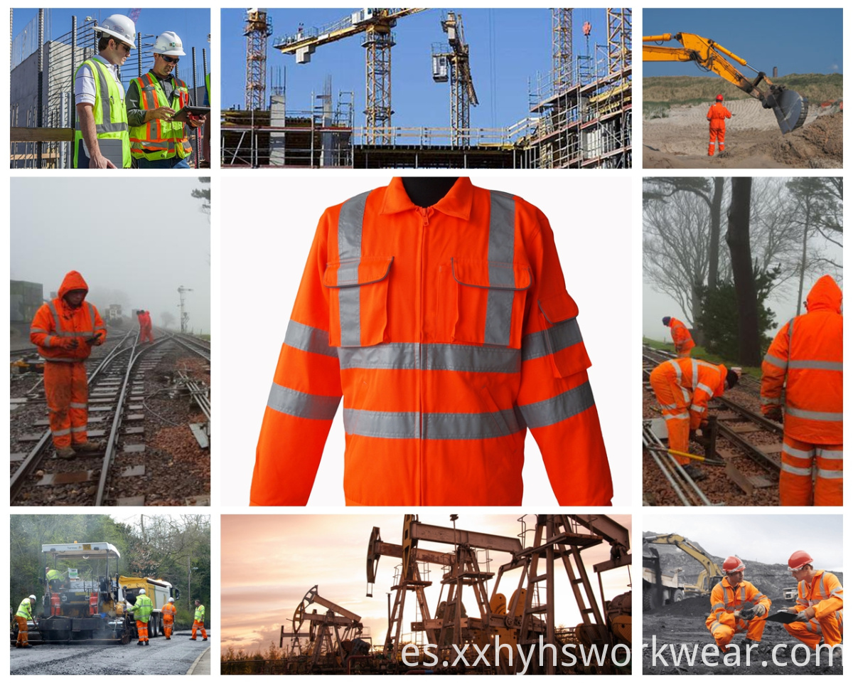 high visibility work shirt