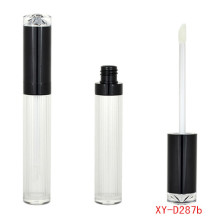 Élégant Waterfall Shape Black lipgloss Tube