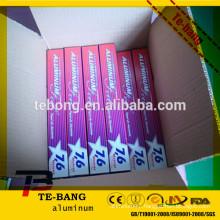 Vacuum adsorption household aluminum foil for aluminum foil importers