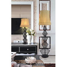 Black Brass Floor Light for Home Project (GF2046-1)