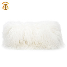 Fabrik Großhandel maßgeschneiderte Größe und Farbe mongolischen echten Pelz Clutch Taschen