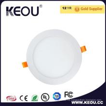 3-24W Ce RoHS aprobó la lámpara ultra delgada del techo del panel del LED