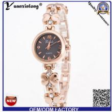 YXL-807 Chine usine tournesol en forme de montre-bracelet de Dame mince affaire Fashion