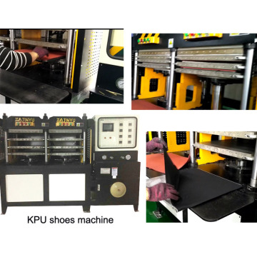 Kpu Glove Up / Cover Hot Haking Forming Machine