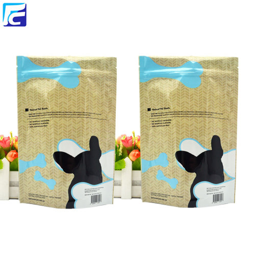 Zip-Lock individuell bedruckte Beutel Pet Food Bag