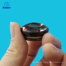 Diamètre 6mm 12.7mm 25.4mm Doublet achromatique positif