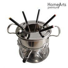 Mini Steel Fondue Set For Home Use