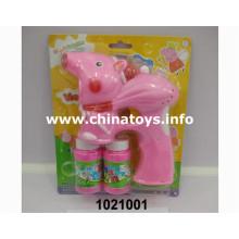 2016 brinquedos de plástico de venda quente, brinquedos de verão, Bubble Gun (1021001)