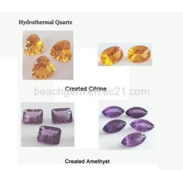 Pierres précieuses synthétiques - Quartz Hyndrothermal