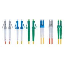 Conector LC personalizado cable de parche de fibra óptica