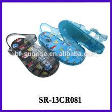 SR-13CR081 sandálias de plástico para crianças crianças geléia sandálias china atacado crianças geléia sandálias