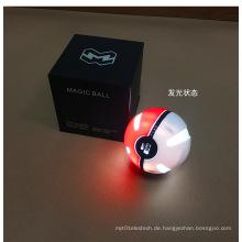 Pokemon Ball Power Bank 10000mAh runde Handy-Ladegerät mit LED-Leuchten
