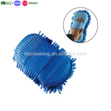 Dicker Multi-Fiber Microfiber Wash Mitt, doppelseitiger Waschhandschuh