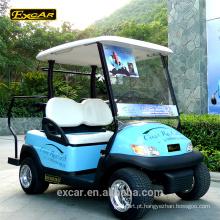 Carro do golfe do painel solar do carro de 48V