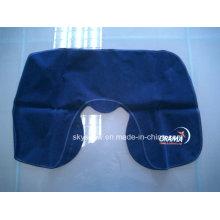 Almohada inflable para el cuello de la aerolínea vendedora caliente