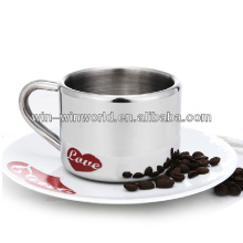 Insulated Stainless Steel Anamorphic Cup