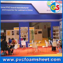 Reines weißes PVC-Schaum-Blatt (heiße Größe: 1.22m * 2.44m)
