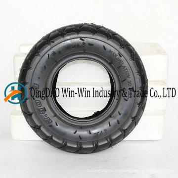 2.50-4 Neumático de la carretilla con llanta / rueda de la carretilla