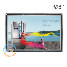Resolução 1366X768 18,5 polegadas jogador de foto de moldura aberta para publicidade comercial