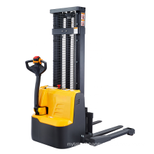 Xilin 1200kg 2645lbs electric straddle stacker 2.5m pallet stacker