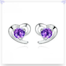 Fashion Accessories Crystal Earring 925 Sterling Silver Jewelry (SE045)