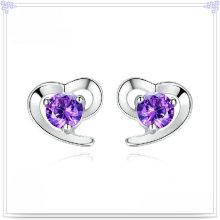 Acessórios de moda Brinco de cristal 925 Jóias de prata esterlina (SE045)