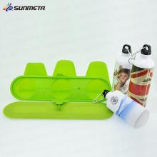 SUNMETA Sublimation 3D Vakuum Presse Sport Flasche Klemme