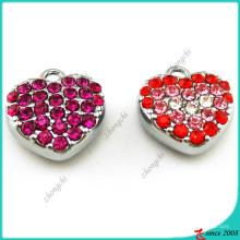 Pendentif en cristal plein coeur pour la décoration de mode (MPE)
