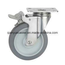 Stainless Steel TPR Medium Duty Caster