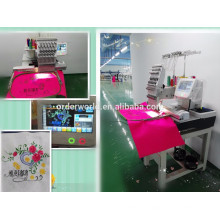 High quality cheap price 1 head domestic computerized 3D cap embroidery machine