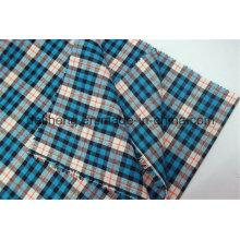 100% Baumwolle Garn gefärbt Check Design Shirt Stoff