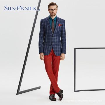 Chaqueta de traje de esmoquin personalizada para hombre guapo