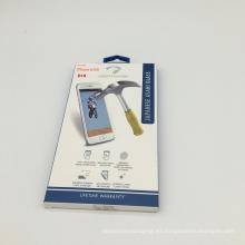 Caja de presentación de ventana de paquete de papel impreso personalizado