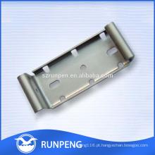 Peças mecânicas estampagem peças de fabricação de chapa metálica