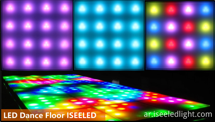 LED Dance floor for wall