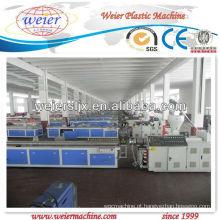 Máquina de fabricação de perfil WPC