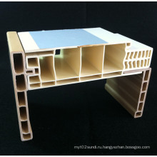 Комбинированный ПВХ дверной коробки ДФ-I120h40+ПВХ Архитрав