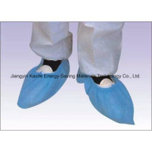 Disposable Hospital Non-Woven PP/PE/CPE Waterproof Anti-Skid Shoe Cover Kxt-Sc29