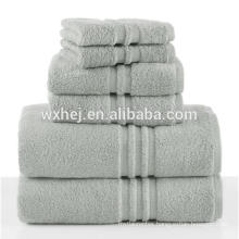 China supplier cheap thin white 100% cotton satin gear bath towels