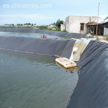Revestimiento impermeable HDPE para acuicultura.