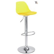 Nuevo color amarillo del diseño para el taburete de la barra (TF 6027)