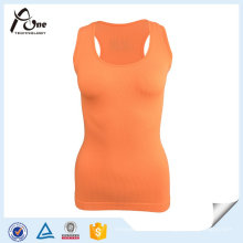 Femmes Plaine Slim Fit Gym Singlet Yoga Porter