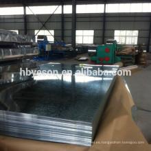 Chapa corrugada de techo / chapa ondulada / techo de zinc